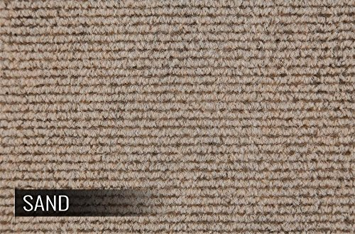 Incstores BerberSand Berber Carpet Tiles, Sand (Pack of 20) - Outdoor Carpet Tile