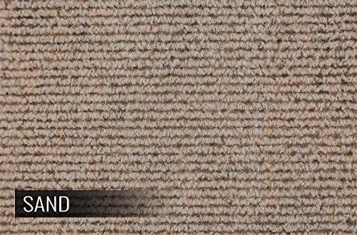 Incstores BerberSand Berber Carpet Tiles, Sand (Pack of 20)