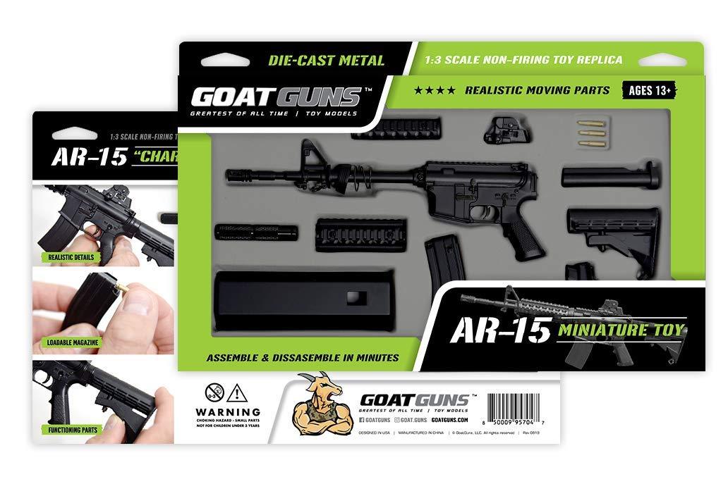 Amazon.com: Juguete en miniatura de GoatGuns AR15 | Escala 1 ...