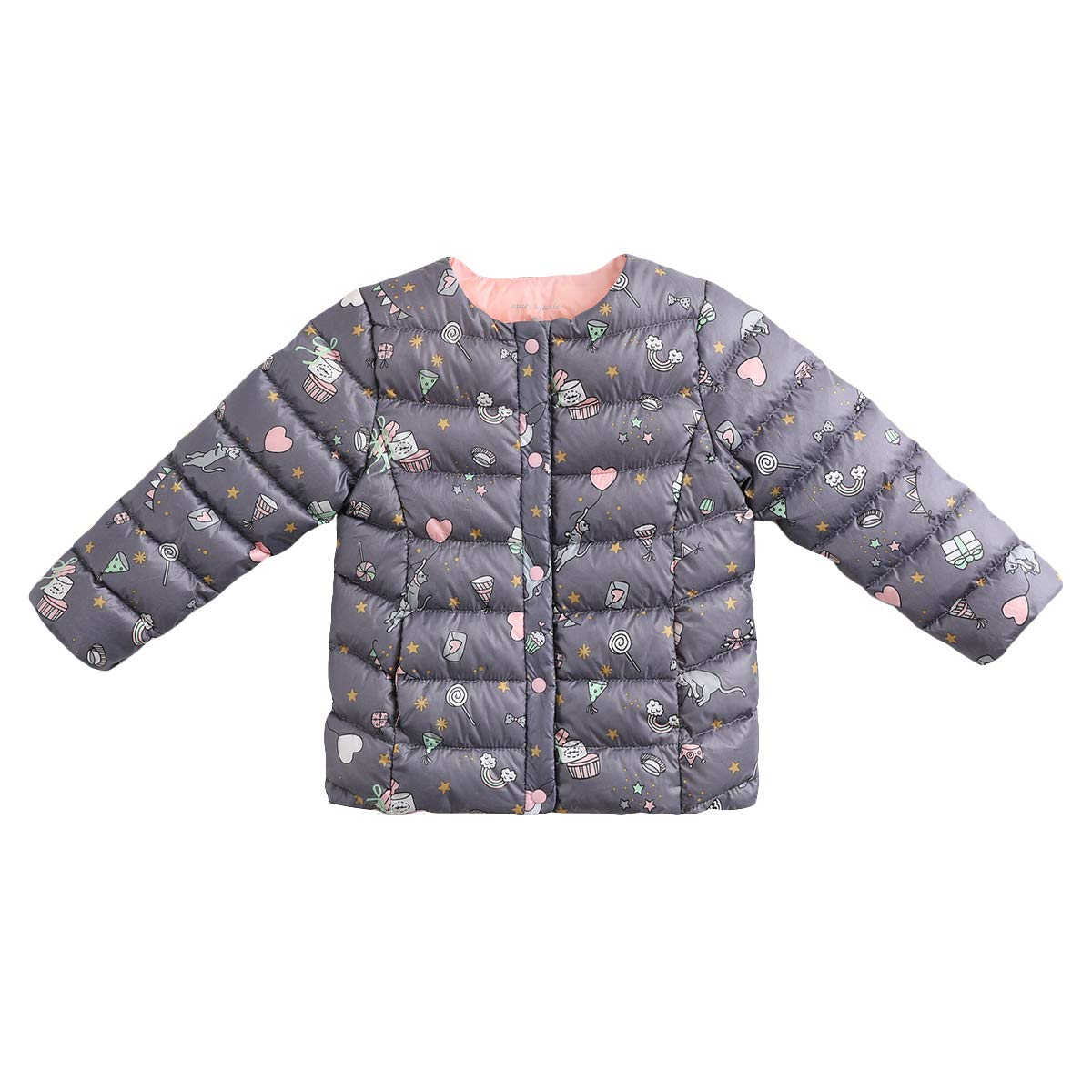 05d50b891d1f Amazon.com  marc janie Girls Boys  Lightweight Packable Down Puffer ...