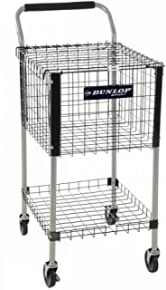 DUNLOP Metal Teaching Cart 325 Ballkorb Balleimer