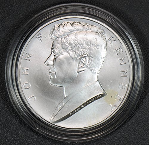 2014 IE BU0081 US Medal kennedy 1 oz silver some spots silver DE PO-01 (Spot Coin Us)