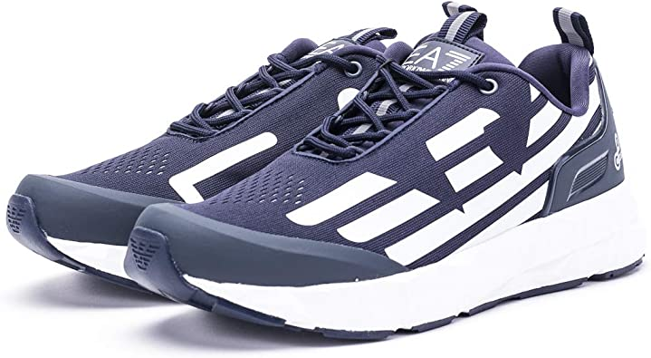 EA7 Ultimate Racer Trainers Navy