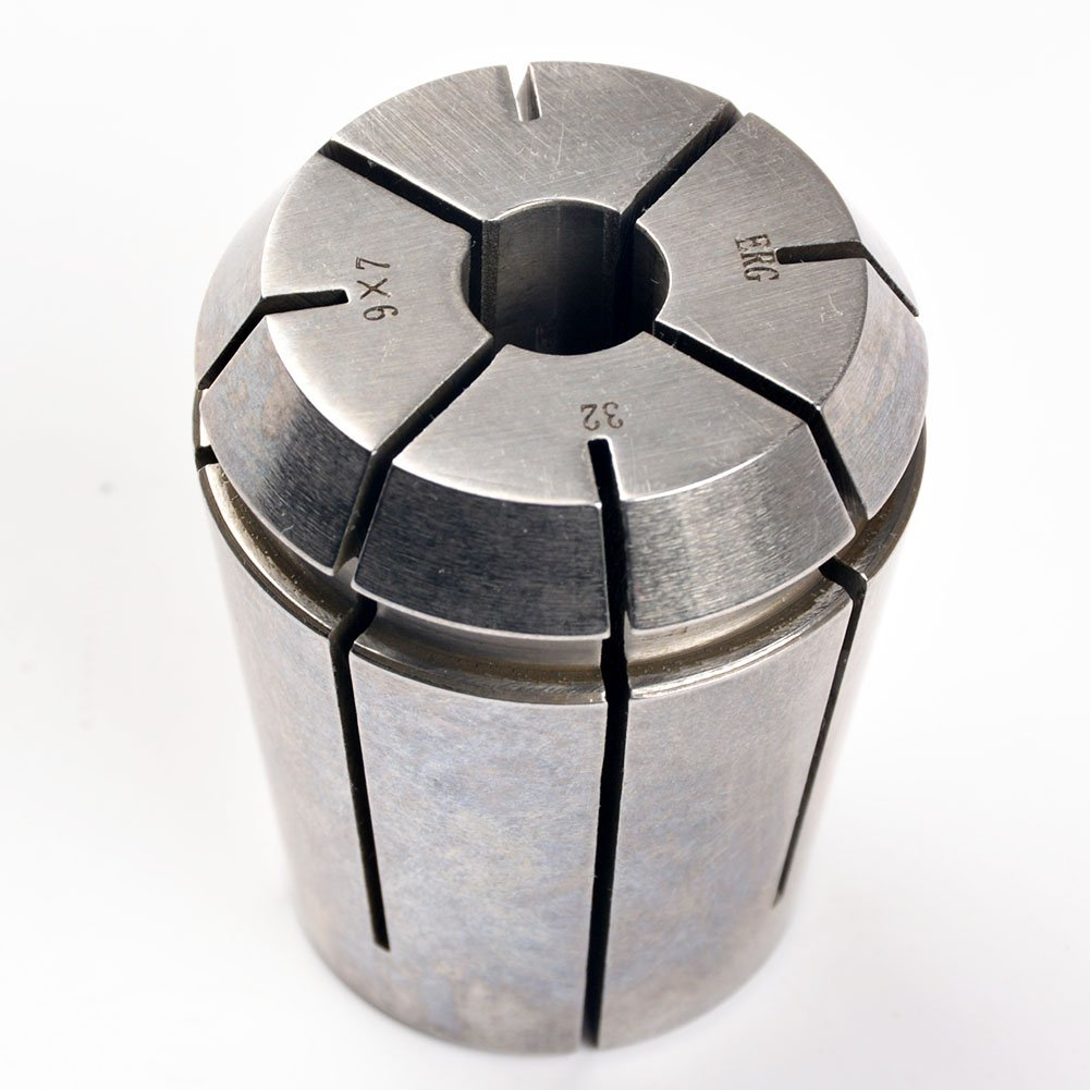 ERG32 9×7 Advanced Formula Spring Steel Collet Sleeve Tap,For Lathe CNC Engraving Machine & Lathe Milling Chuck