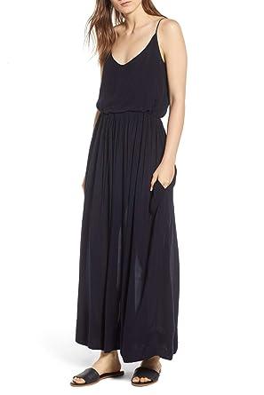 41b627cff74fb9 Amazon.com  James Perse Cami Maxi Dress French Navy (2)  Clothing