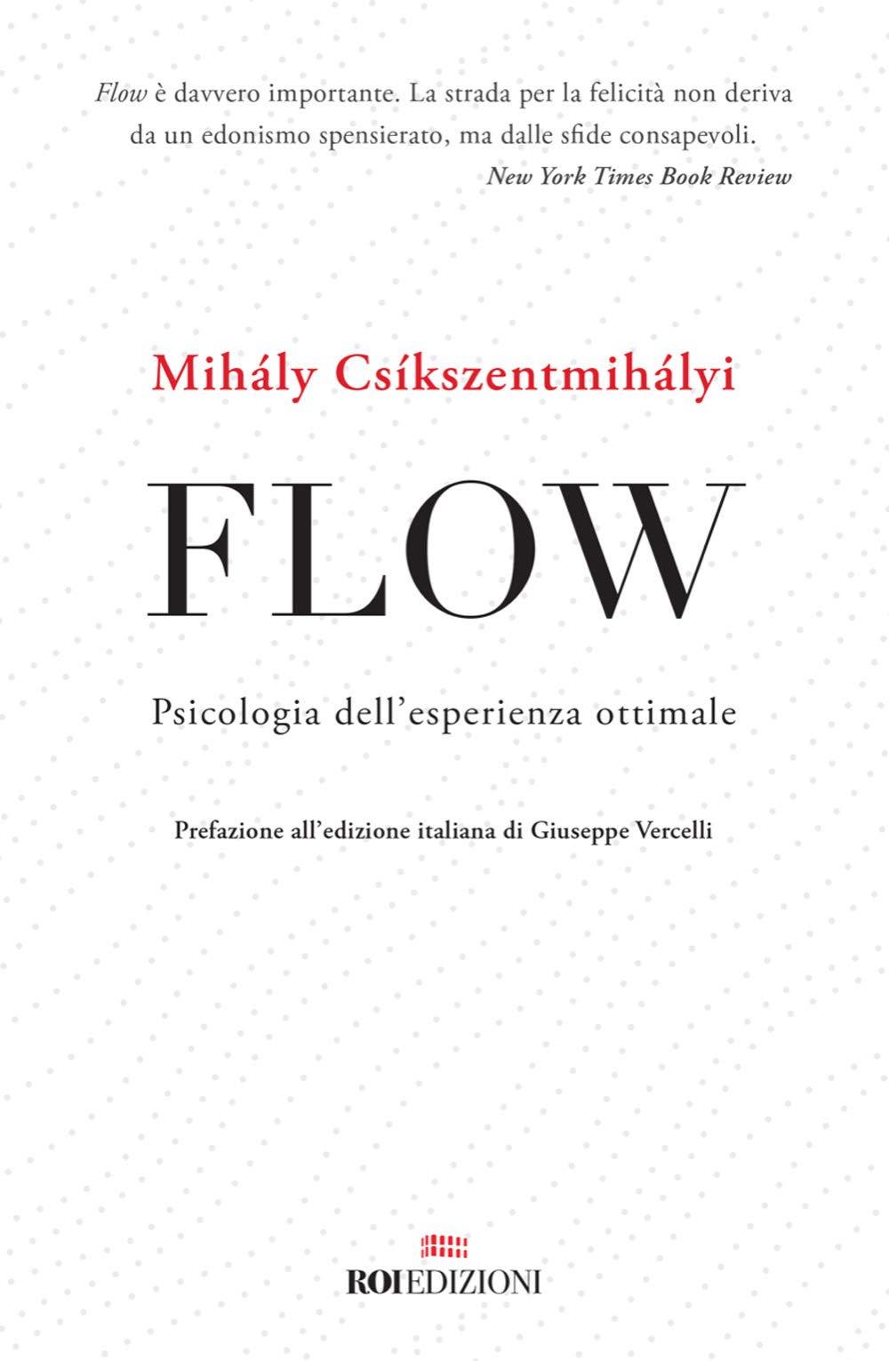 Copertina Libro Flow