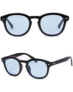 db25d65a61 Johnny Depp Sun Glasses Frame Retro Brand Oliver Sunglasses Men Women  Transparent Goggles Candy