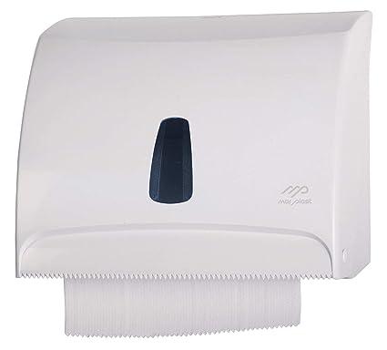 Mar Plast dispensador Distribuidor Papel Toallas Blanco en la Pared Combi para Hojas de Papel O