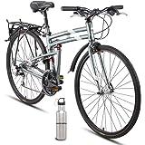 Montague New Urban Folding 700c Pavement Hybrid Bike Smoke Silver 21inch