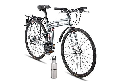Amazon.com : Montague New Urban Folding 700c Pavement Hybrid Bike ...