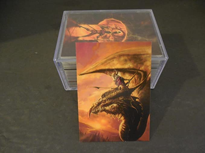 Complete Set 90 Bob Eggleton Fantasy Art Cards '95 NM at