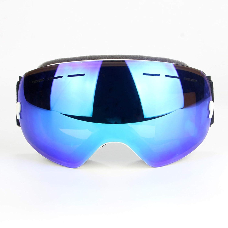 SonMo Radbrille Sportbrille Radbrille Nachtsichtbrille Snowboardbrille Fahrbrille Schneebrille Skibrille TPU+PC Schneebrille Damen Herren Blendschutz mit UV Schutz Winddicht