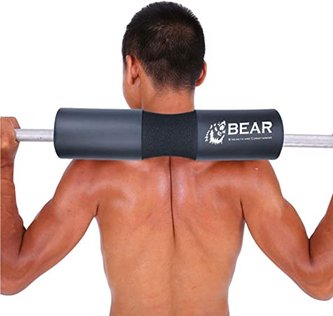Squat and Hip Thruster Soft Foam Bar Pad Works Great for Glute Bridges on Smith Machine and Standard Barbell FITGIRL Protect Your Neck and Avoid Black and Blues from Leg Day