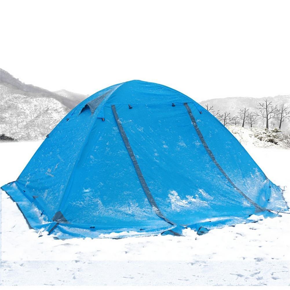 Miao Outdoor Camping 2 Personen Double Layer anti-rain Zelte