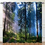 ANHOPE Forest Curtains, Thermal Insulated