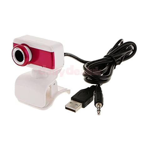 Generic 50. 0M USB Video Camera Webcam W/Mic Microphone for PC Computer Laptop Rose