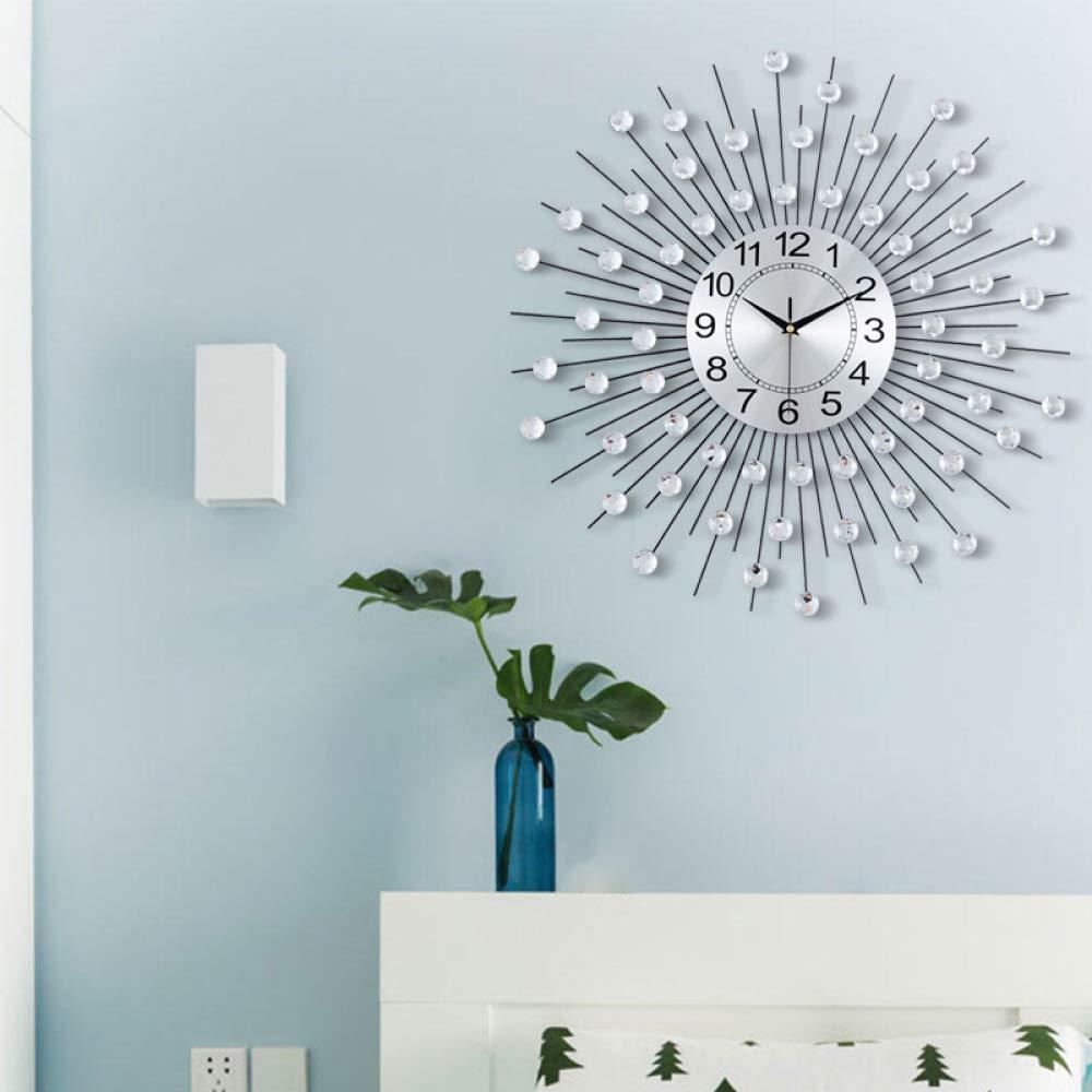 WEII Wanduhr Home Schmiedeeisen Mute Wanduhr Kreative Minimalistische Home Home Home Wohnzimmer Schlafzimmer Studie Dekorative Wanduhr f9df18