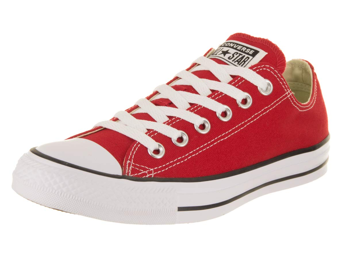 Converse Women's Chuck Taylor All Star Ox Red Basketball Shoe 8 Women US