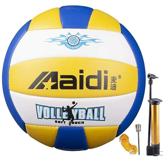 Maidi Balón de Voleibol de Entrenamiento, Tacto Suave, tamaño 5 ...