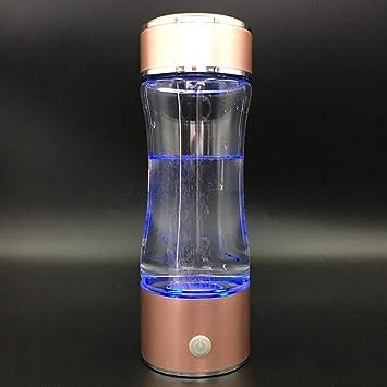 UTNF Últimas Propiedades Antioxidantes Curación Agua Molecular Pequeña Agua Rica En Hidrógeno Ionizador Botella De Hidrógeno