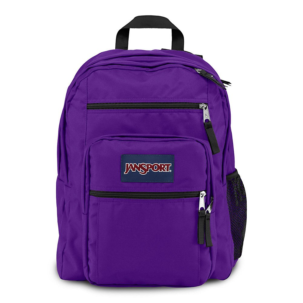 JanSport Big Student Backpack - Signature Purple - Oversized