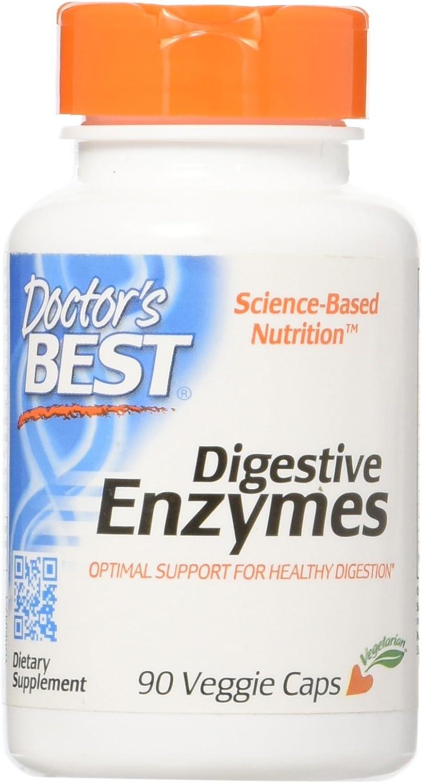 Las mejores enzimas digestivas, todos vegetarianos, 90 Caps - Veggie del mejor doctor