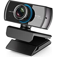 Streaming Webcam 1536P 1080P Game Web cam with Mic. for Video Chatting and Recording Compatiable with Xbox One PC Laptop Support OBS XSplit Skype Facebook Twitch