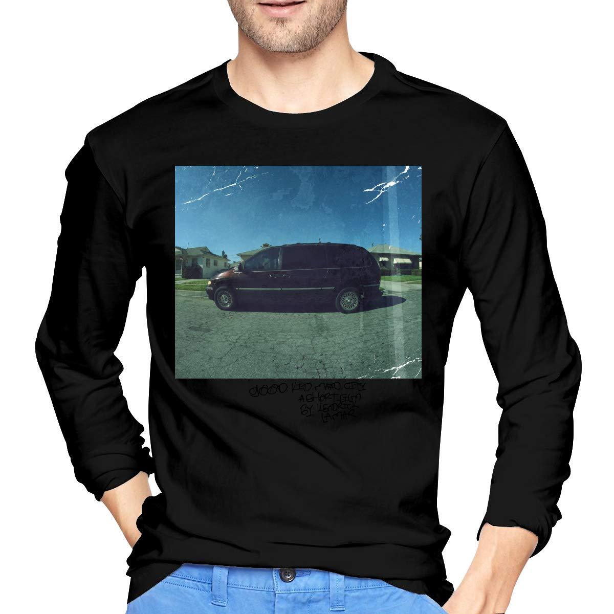 S Kendrick Lamar Good M A A D City T Shirts Black
