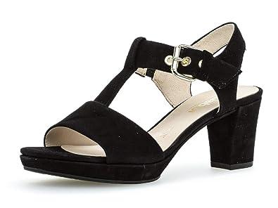new product 9ed60 8f447 Gabor Shoes Damen Comfort T-Spangen Sandalen