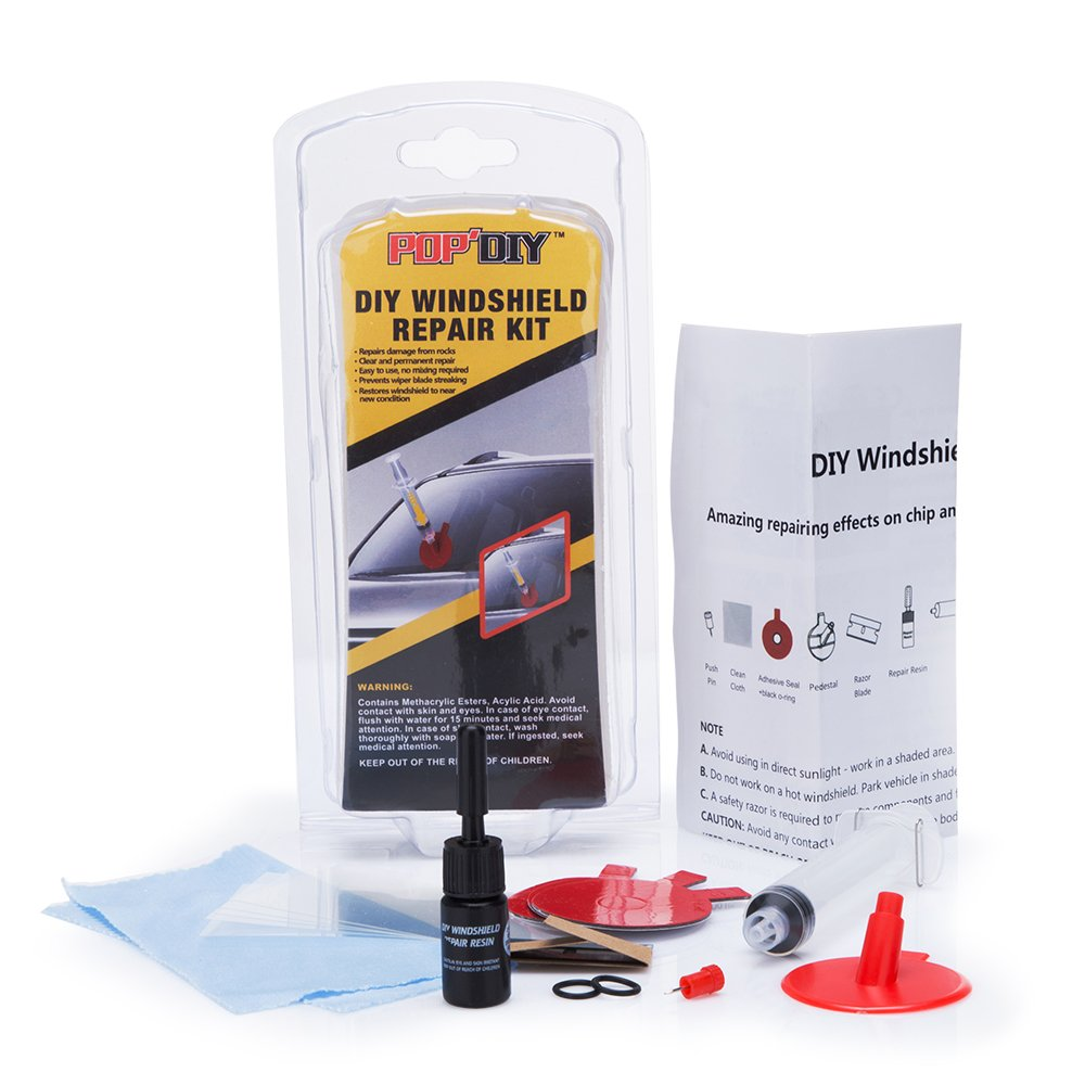 FMS Car Windshield Repair Kit for Different Chips and Cracks by FMS (Image #1)
