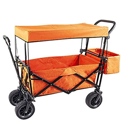 db27f6f8ca13 Amazon.com : GAIBO Garden Cart Folding with Wheels and Carrying Case ...