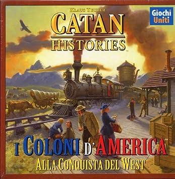Giochi Uniti Catan Histories: I Coloni dAmerica - Juego de Mesa (versión en Italiano) [Importado de Italia]: Amazon.es: Juguetes y juegos