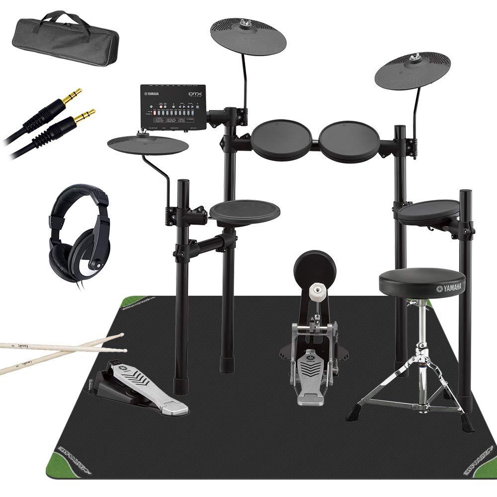YAMAHA DTX452KS マット付き自宅練習8点セット 電子ドラムセット ヤマハ   B07FVPVMXZ