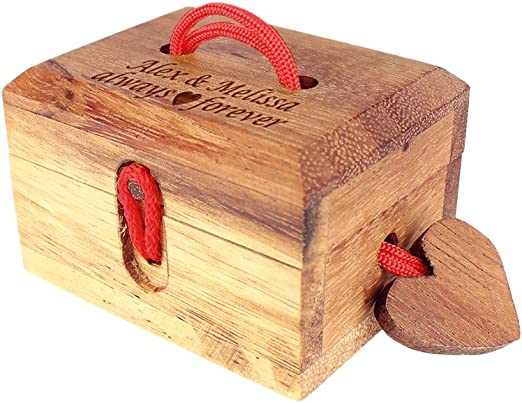 Caja mágica de amor – Caja regalo con mecanismo de cierre mágico ...