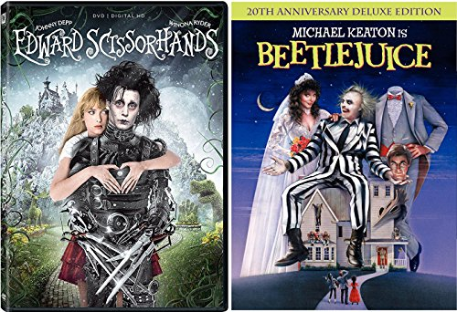 Edward Scissorhands & Beetlejuice Johnny Depp Tim Burton Fantasy Action set