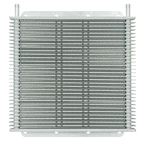 Flex-a-lite 400130 Stacked Plate 30-Row Transmission Cooler, (11 x 10 x 3/4