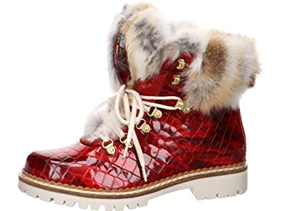 1515404a94 1515 Rot 548736 Shoes Italia Stiefeletten New Damen 5j4qAR3L