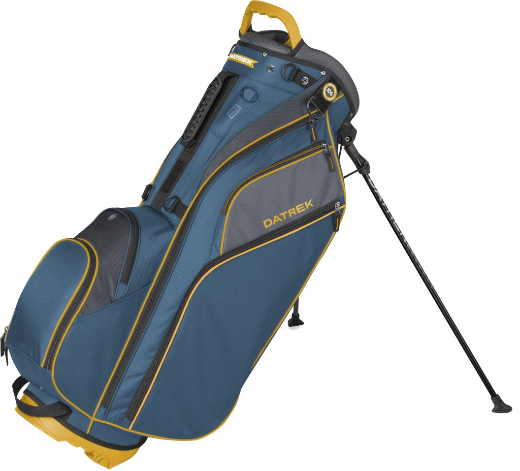 Datrek Golf Go Lite Hybrid Stand Bag (Blue/Slate/Yellow)