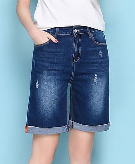 Amazon.com: Innifer Bermuda - Pantalones vaqueros para mujer ...