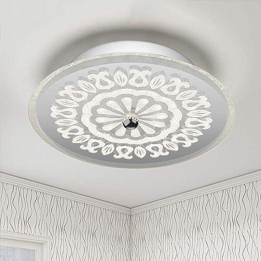 Led Deckenleuchte Schlafzimmer Lampe Romantisch Warm Flur Modern Einfache Flurleuchten Balkon Lampen Amazon De Kuche Haushalt