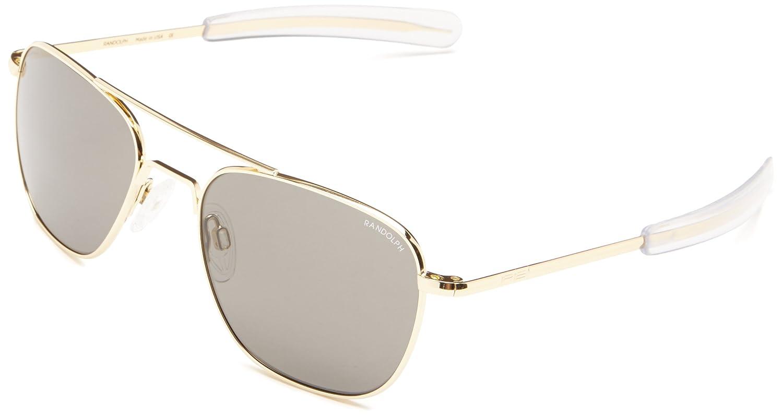 8fa2805971 Amazon.com  Randolph Aviator Square Sunglasses