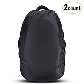 Amazon.com : AGPTEK 2-Pack Nylon Waterproof Backpack Rain Cover ...