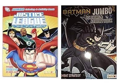 Amazon.com: Justice League & Batman Coloring & Activity Book ...