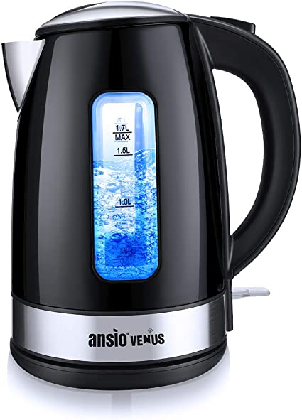 ANSIO Electric Kettle 2200W 1.7L