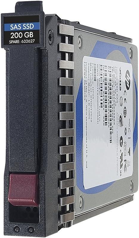 HP 400GB 6G SAS SFF - Disco duro sólido (400 GB, SAS, 6 Gbit/s, 6,35 cm (2.5