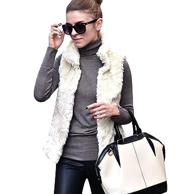 Abrigos de otoño Invierno, Dragon868 Mujeres Invierno cálido Plus Size Chaleco sin Mangas Vest Abrigos: Amazon.es: Ropa y accesorios