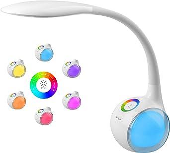 WILIT T3 Lámpara de Escritorio Táctil, Flexo LED Regulable ...