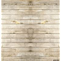 5x7ft Brown Wood Wall Photo Backgrounds Wrinkle free Photography Backdrops for Children wdn007