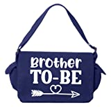 Tenacitee Brother To Be Royal Blue Brushed Canvas