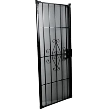 Superieur 36u0026quot; X 80u0026quot; Security Door Black